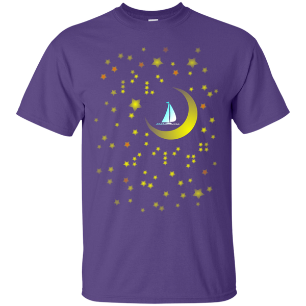 Moon sailing on g200 gildan ultra cotton t shirt 3 for G200 gildan ultra cotton t shirt