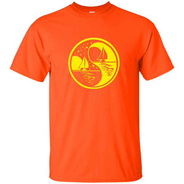 Yin Yang (yellow) G200 Gildan Ultra Cotton T-Shirt