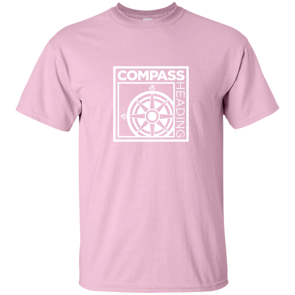 """Know Your Boat"" – compass - White on Light Custom Ultra Cotton T-Shirt"