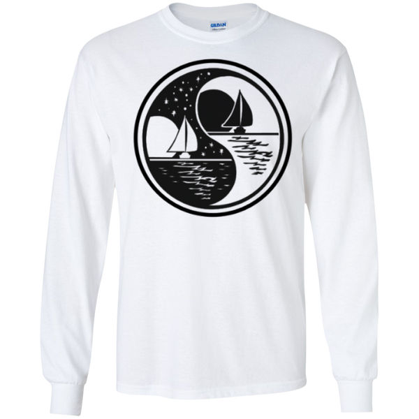 Yin Yang LS Ultra Cotton Tshirt