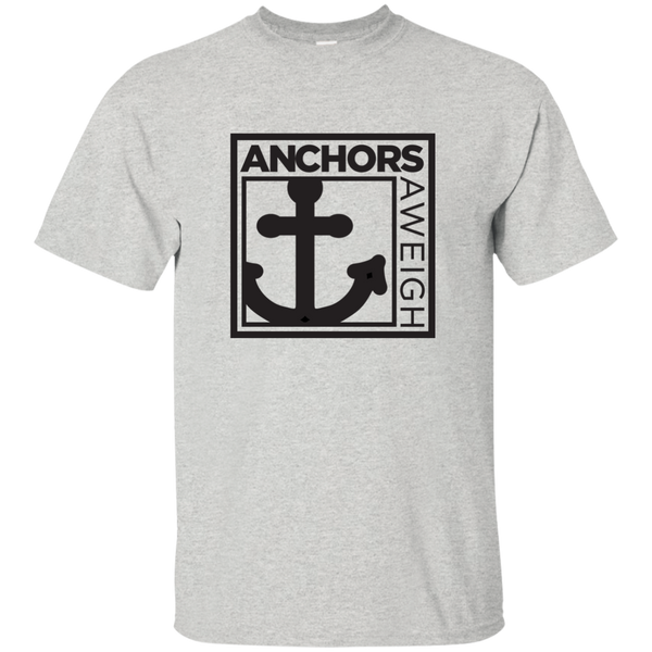 """Know Your Boat"" – Anchor - White on Custom Ultra Cotton T-Shirt"