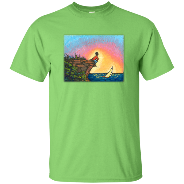 """The Adventurer"" - printed on the front - Custom Ultra Cotton T-Shirt"