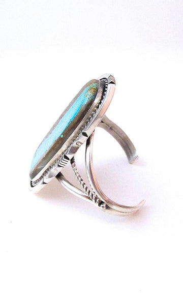 STONE IN LOVE Statement Sterling & Royston Turquoise Cuff