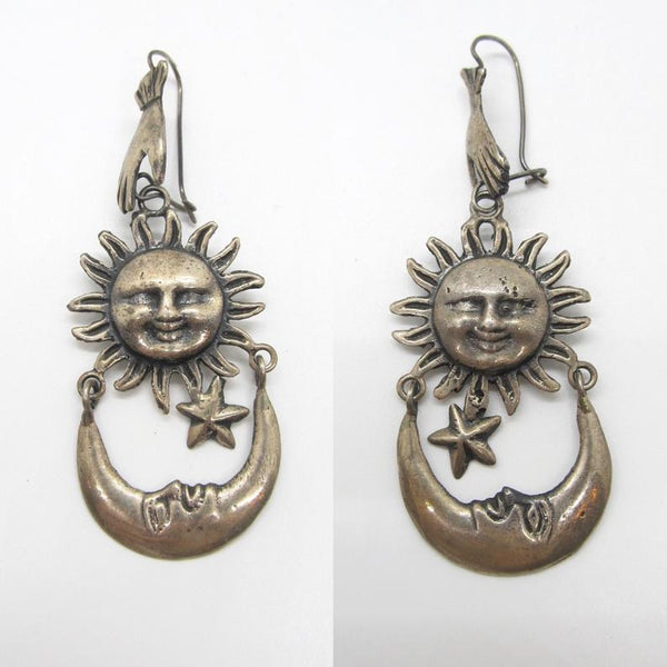 CELESTIAL BEINGS Federico Jimenez Silver Earrings