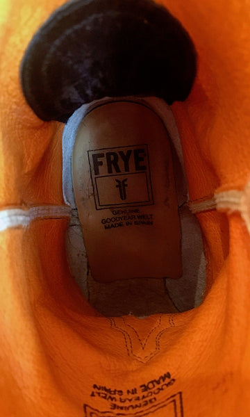 FRYE GUY 1970s Tan Leather Frye Boots *Like NEW*, Sz 10M