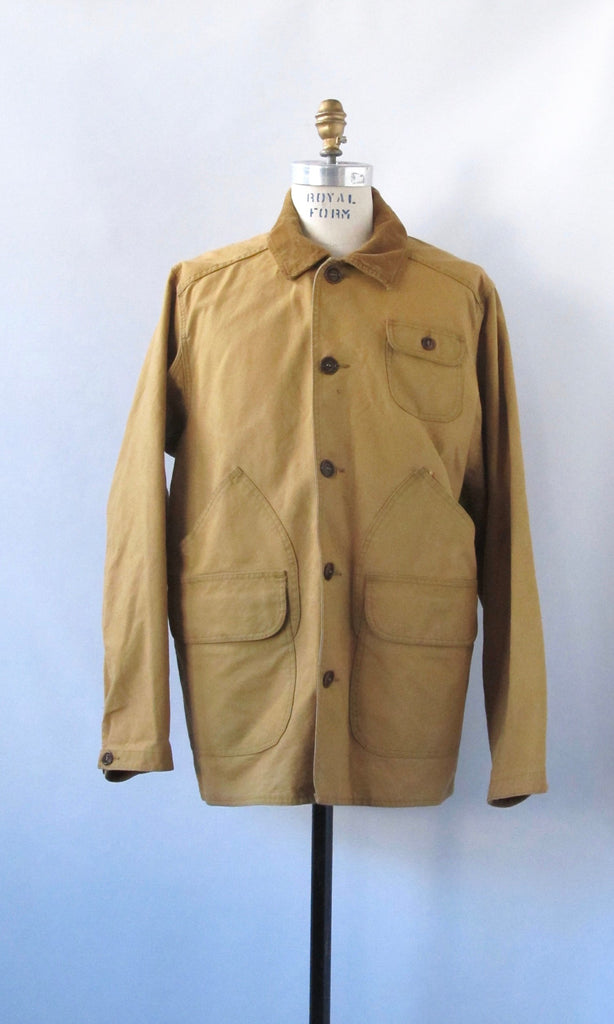 NORTHERN EXPOSURE Mens Filson 1990s Cruiser Field Coat, Sz Med