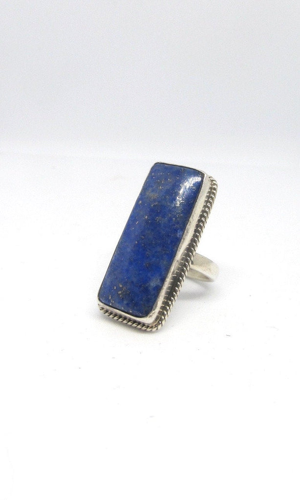 BLUE HEAVEN Chimney Butte Sterling Silver & Lapis Lazuli Ring, Size 7.5