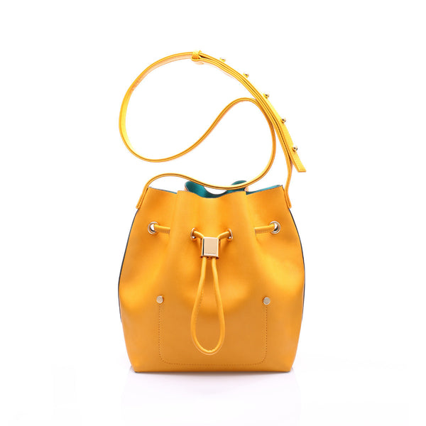 sometime niko niko mini bag amber front