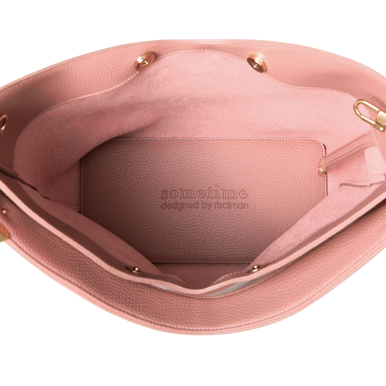 RIBAG HOBO - DUSTY ROSE