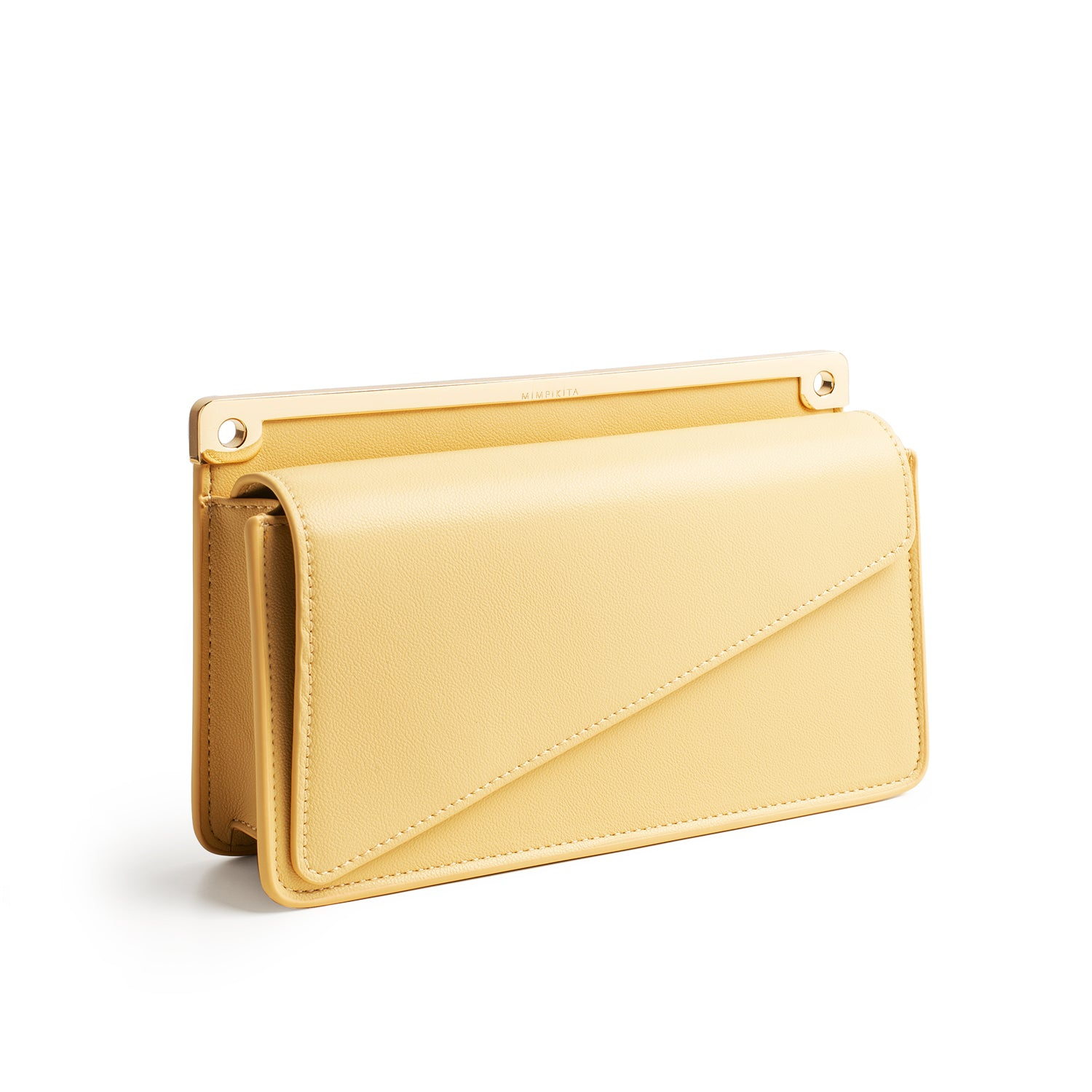 KITA CLUTCH - SOFT YELLOW