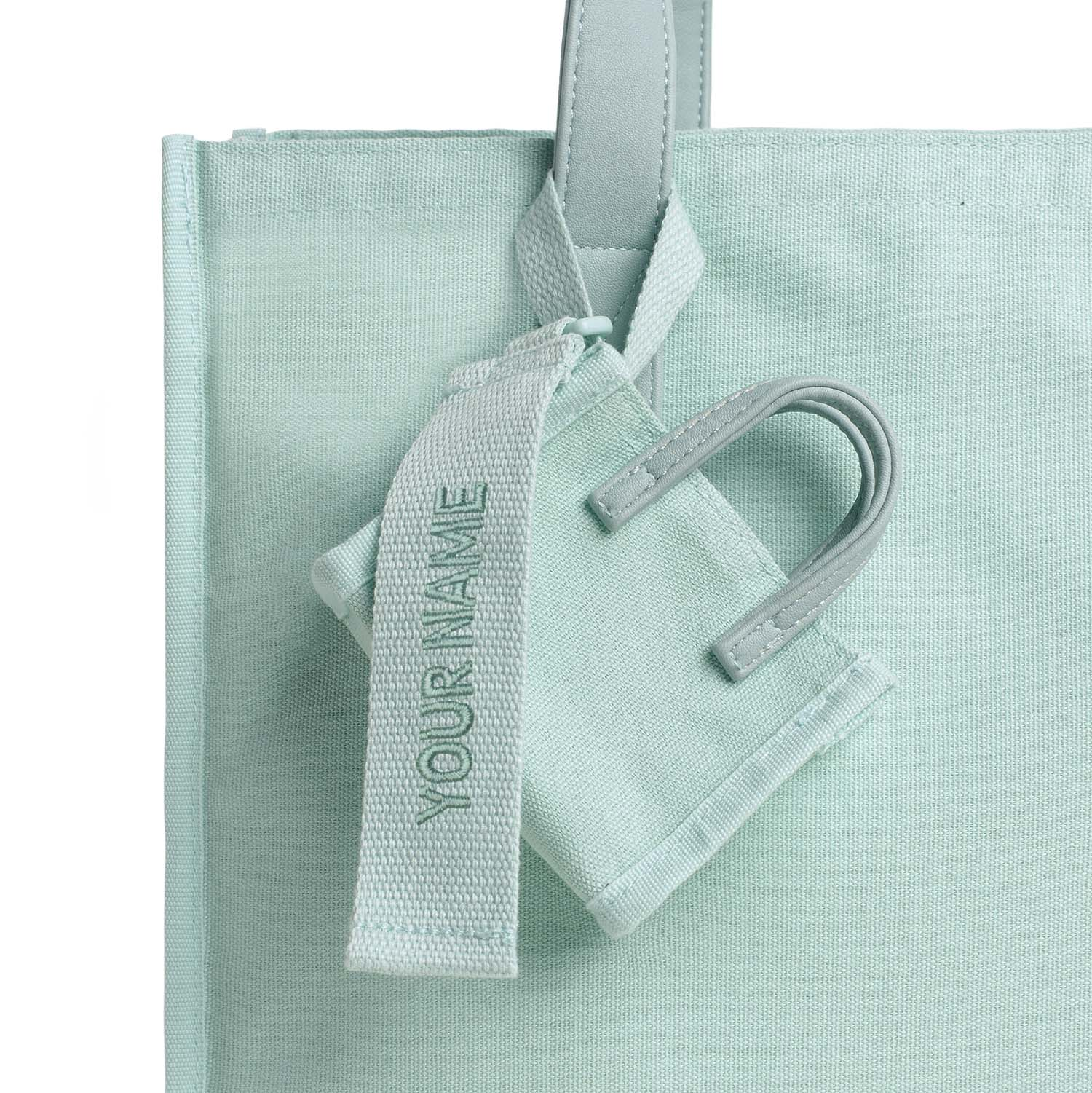 Estela Bag Tag - Mint