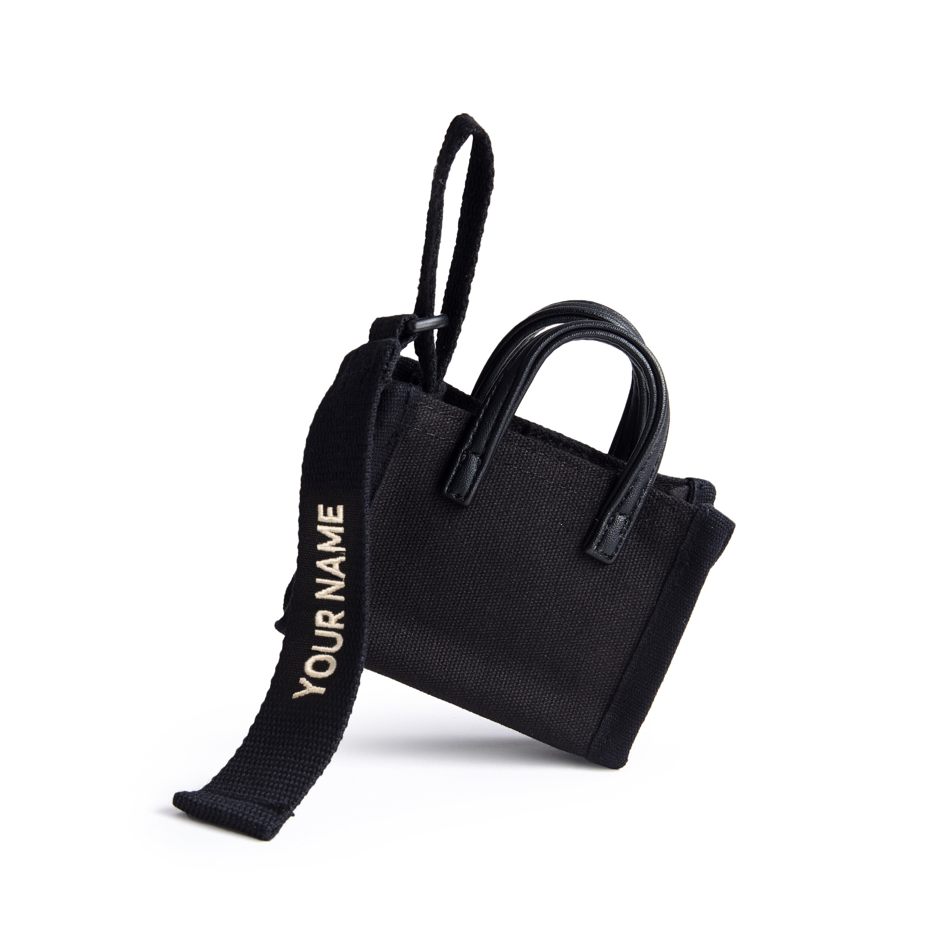 ESTELA BAG TAG - BLACK