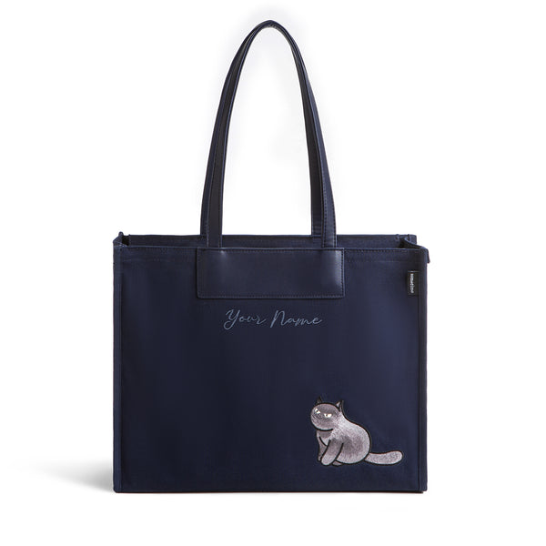 Furry Bag 37 (EB) - Navy