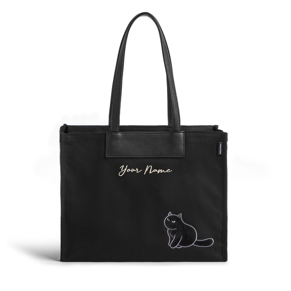 Furry Bag 37 (VV) - Black