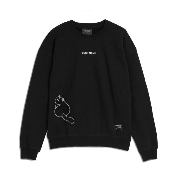 Furry Sweatshirt 36 - Black