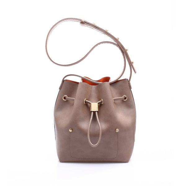 sometime niko niko mini bag mocha front