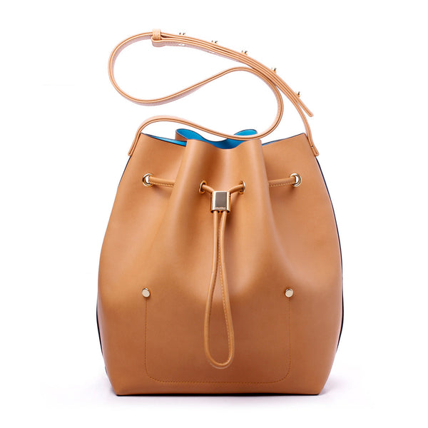sometime niko niko bag hazelnut front