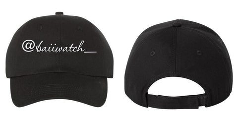 Embroidered Custom Caps Text or Logo 100% Cotton Six Panel Structured Quality Hat No Minimum No Setup Fee