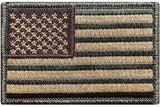 TACTICAL USA FLAG PATCH Multitan (Multitan) *Made in USA -Bullrun Flag
