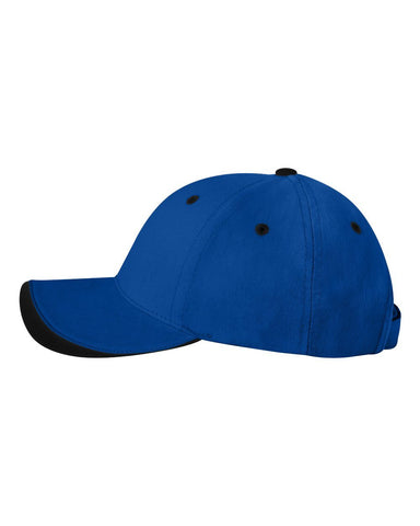 C38 Embroidered Custom Caps Two Tone Royal   Black Color Text or Logo –  Bullrun Flag Embroidery cbc3f502318