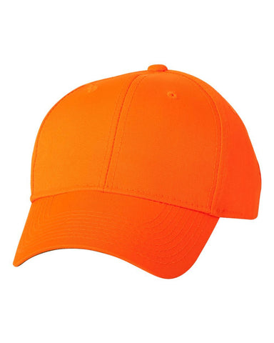 C80 Custom Camouflage Caps Outdoor caps Blaze Orange Embroidered Text or Logo No hidden fees