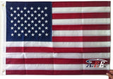 F06 US Flag Embroidered Stars and Sewn Stripes High Quality Heavy Duty USA 2'x3' Ft Nylon American Flag 210 D
