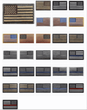 10 Pack USA/American Flag Patch - Wholesale Price (Premade)