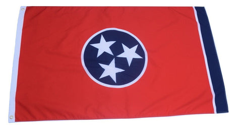 F59 Tennessee State Flag 3'x5' Ft Polyester Wholesale & Bulk Price $2.40