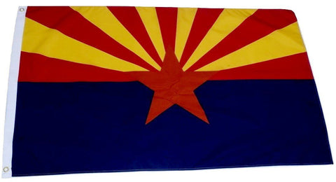 F63 Arizona State Flag 3'x5' Ft Polyester Wholesale & Bulk Price $2.40