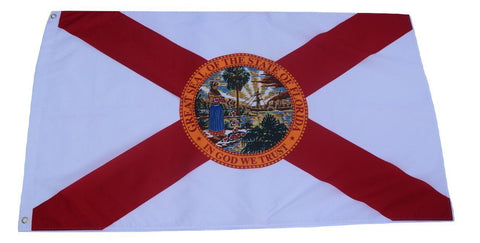 F54 florida State flag 3'x5' Ft Polyester Wholesale & Bulk Price $2.40 (Premade)