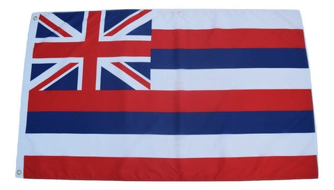 F55 Hawaii State Flag 3'x5' Ft Polyester Wholesale & Bulk Price $2.40 (Premade)