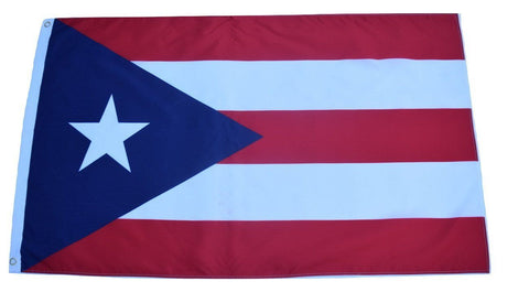 F58 Puerto Rico State Flag 3'x5' Ft Polyester Wholesale & Bulk Price $2.40