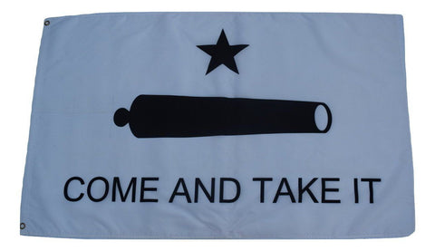 F84 Come And Take It Flag Lone Star 3'x5' Ft Polyester Wholesale & Bulk Price $2.40