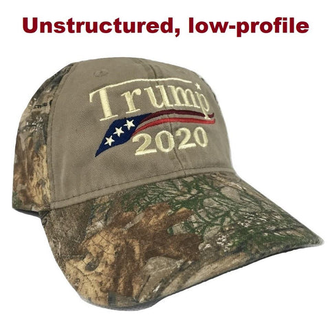 fafc3f37ab967 Embroidered in USA Donald Trump 2020 MAGA Cap camo hat with american ...