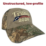 trump hat camo unstructured