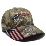 trump hat camo hat maga hat make america great again usa flag cap