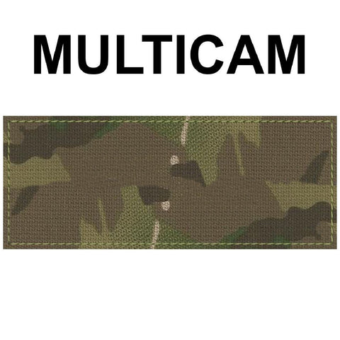 2 x 5 inch Custom Military Style NameTape Multicam OCP ACU USMC NAVY Marine Black Uniform Camo Hook Fastener & Iron Tactical Name Patch