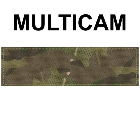 Huge 2 x 7 inch Custom Military Style NameTape Multicam OCP ACU USMC NAVY Marine Black Uniform Camo Hook Fastener & Iron Tactical Name Patch