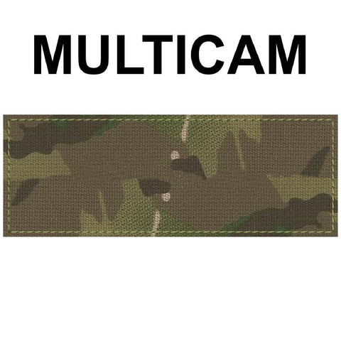1.5 x 5 inch Custom Military Style NameTape Multicam OCP ACU USMC NAVY Marine Woodland Black Uniform Camo Hook Fastener & Iron Tactical Name Patch