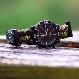 A05 Ultimate Survival Watch Made With Quality 555 Paracord (Water Proof)