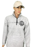 Monogrammed Sherpa Jacket Custom Embroidered Sherpa Pullover Genuine Boxecraft Fleece Quarter zip Personalized Sweatshirt Extremely Soft