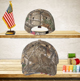 Your Text Custom Embroidered Personalized Patriotic Camouflage caps with american USA flag Camo Mesh Baseball Hunting Hats No Minimum