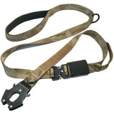 camo tan brown kong fron leash tactical dog leash with cobra buckle tactical soft handle leash heavy duty tactical leash