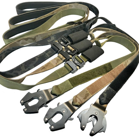 kong fron leash tactical dog leash with cobra buckle tactical soft handle leash heavy duty tactical leash