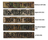 custom name tag multicam digital acu desert acu woodland digital a-tacs