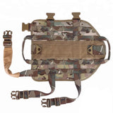 Tactical Dog Vest Military molle Vest with pouches (Premade)