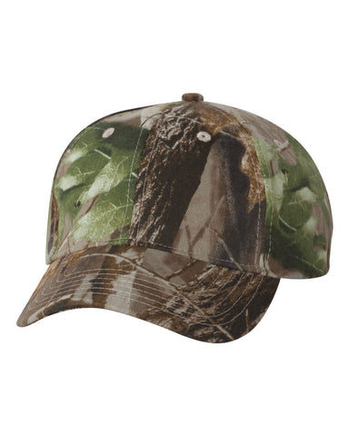 C62 Custom Camouflage Caps Kati caps Realtree Hardwood HD Green HD Embroidered Text or Logo No hidden fees