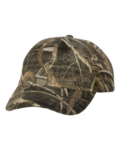 C65 Custom Camouflage Caps Kati caps Realtree Max-5 Embroidered Text or Logo No hidden fees