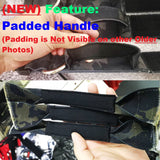 padded handle tactical dog collar