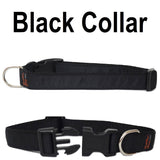 Custom dog Collars Personalized Embroidered dog collars with Name 1 inch  Black
